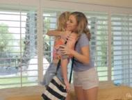 When Girls Play - Sexy Lesbian Massage With Blake Eden And Ryan Ryans