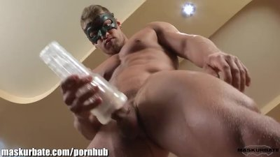 Maskurbate Muscular Brad Fleshlight Pleasure