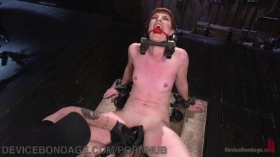 Strict Bondage And Sadistic Flogging