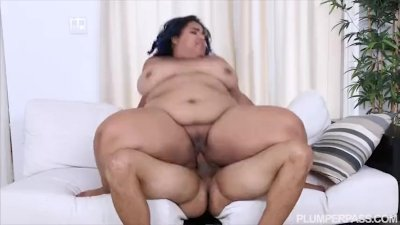 Angry BBW Babe is Calmed and Fucked by Friend