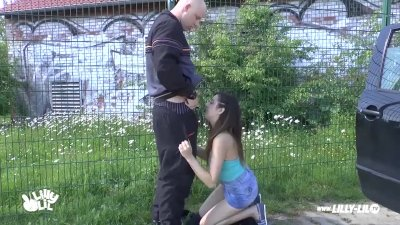 OUTDOOR PUBLIC GERMAN TEEN STRANGER FUCK DOGGYSTYLE POV COMPILATION