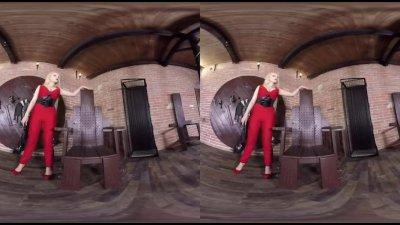 Virtual Reality porn with Ange