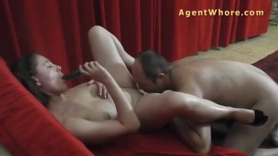 Older man is enjoying with BUSTY milf