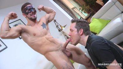 Maskurbate Blowing Masked And Big Dick Carl