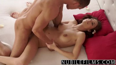 NubileFilms - Horny Masseuse Cums On Big Cock