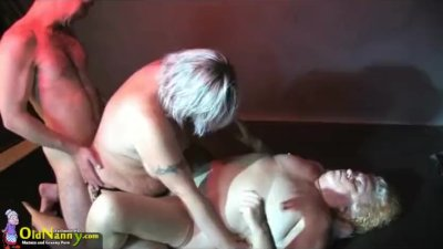 Mature by OldNanny, big mature and her boyfriend