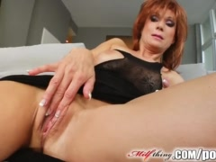 Preview 6 of Milf Thing Redhead Milf Gets Her Mature Pussy Fucked