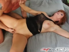 Preview 8 of Milf Thing Redhead Milf Gets Her Mature Pussy Fucked