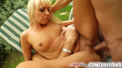 Milf Thing MILF kitty may be a mom but she fucks like she\'s 19