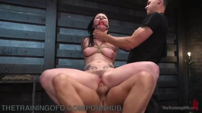 Electricity And Bondage For Anal Slut