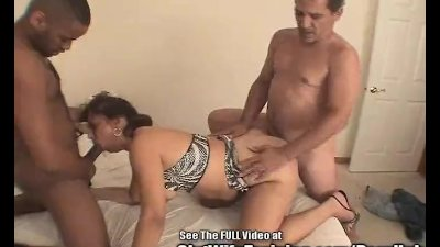 Butch MILF Gets Railed at Bukkake Party!