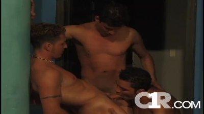 Lured To Costa Rica: Scene 3 Marcelo Corella,Axell Caballero and Richard R