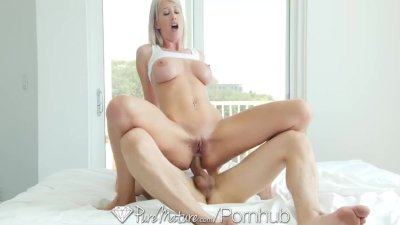 PureMature - Hot Milf Riley Jenner fucks her young friend