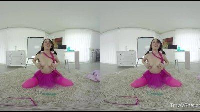 TmwVRnet & Timea Bella presents - VR Schoolgirl Experience