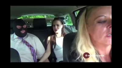 6-movies.com - Hot car ride with a masked stranger -