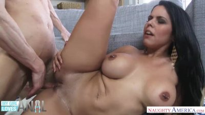 Diamond Kitty takes a stiff dick up the ass - My Girl Loves anal