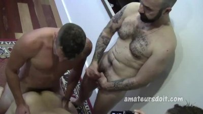 Amateur Four-way Group Sex