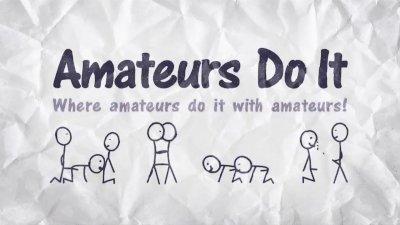 Amateur Shower Flexing