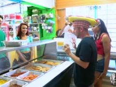 Reality Kings - Two naughty teens share a hotdog