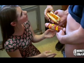Reality Kings - Two naughty teens share a hotdog