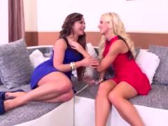 Luxury whores Bella Baby & Kiara Lord Double Dildo lesbian Sex
