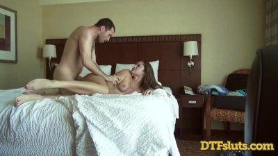 Dani Daniels Seduces Cameraman in Hotel Fuckfest