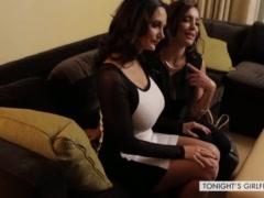 MILFs Ava Addams & Francesca Le big tits threesome - Tonight\'s Girlfriend