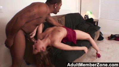 Adultmemberzone - fiery redhead wants the black boy\'s giant dick