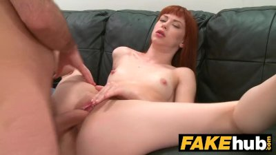 Fake Agent Creampie for new Re