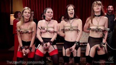 Elite Slave Girl Fuck Fest Orgy