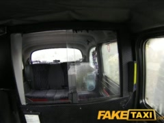 FakeTaxi Big tits babe has sex with taxi driver