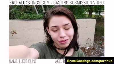 BrutalCastings Lucie Cline rough bdsm