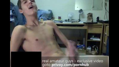 Amature gay porno video