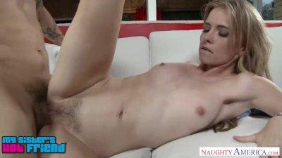 Horny blonde Kaylee Jewel wants to fuck her friend\'s bro - Naughty America