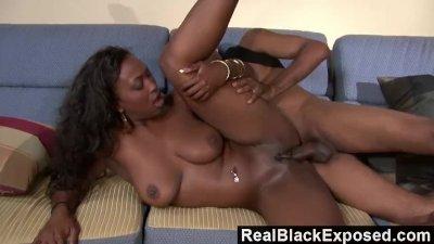 RealBlackExposed - Aryana Starr Twerks On Her Man\'s Thick Cock
