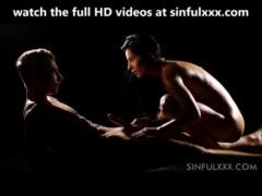 Beautiful couple having intimate sex
